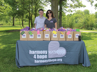 Harmony for Hope at picnic